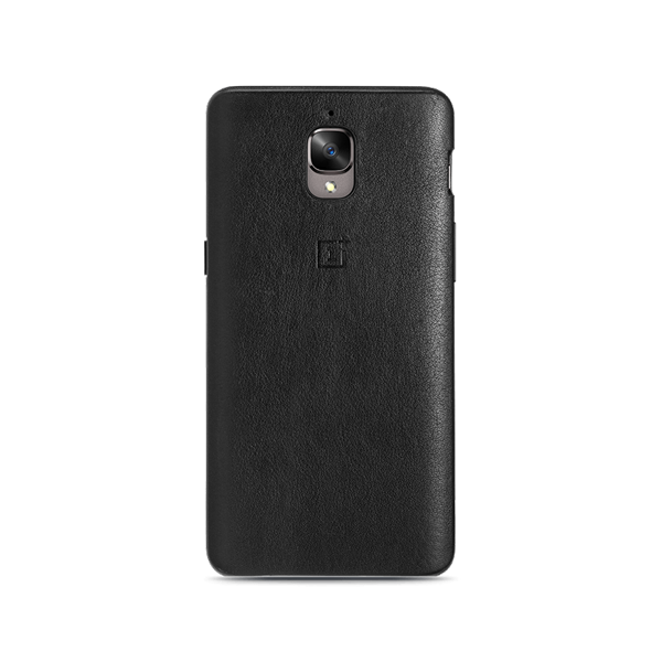 OnePlus 3/3T Leather Case (Black)