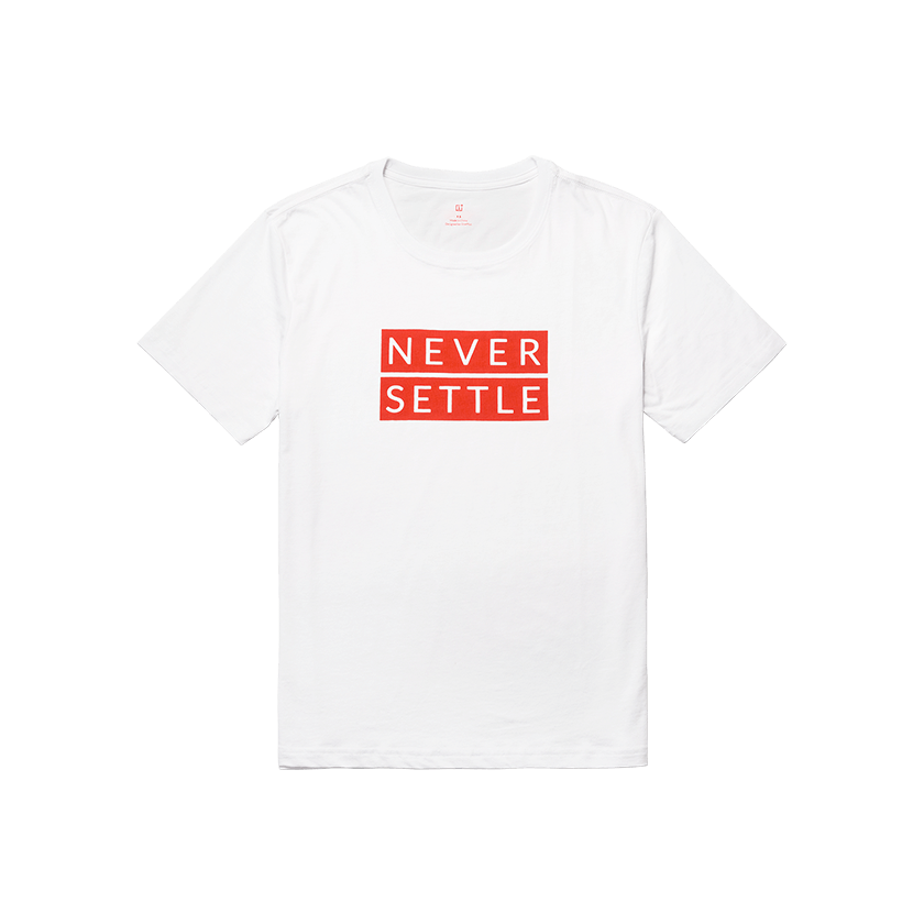 OnePlus Never Settle T-shirt