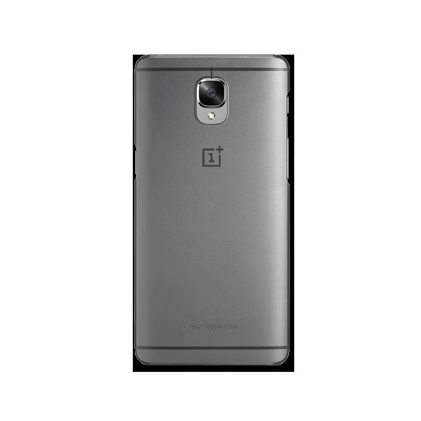 OnePlus 3/3T Translucent Gray Case