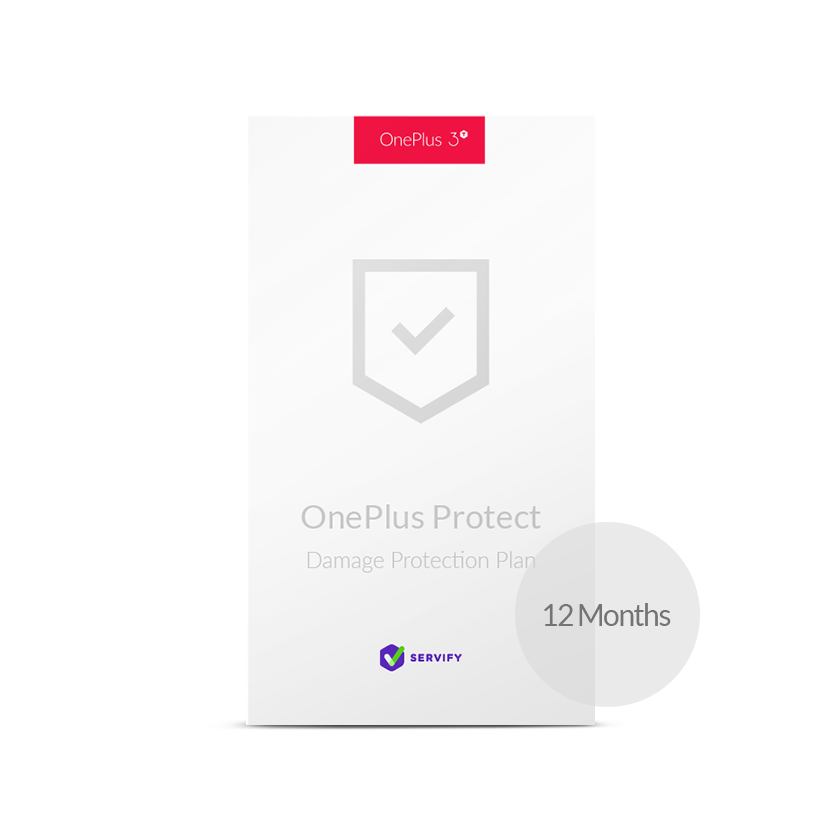 OnePlus Protect by Servify for OnePlus 3T