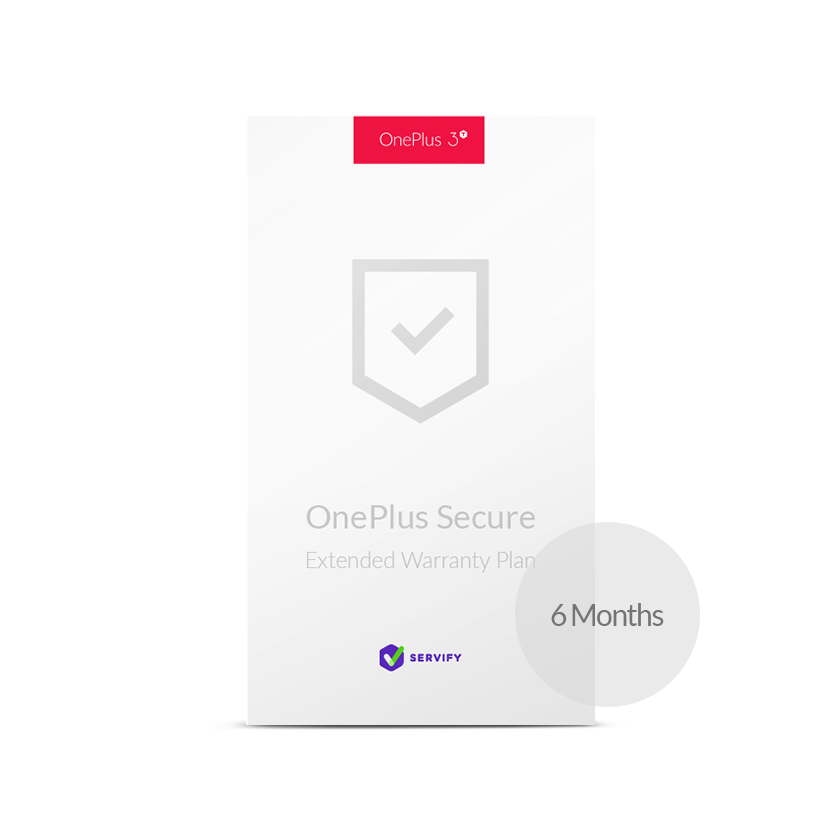 OnePlus Secure by Servify for OnePlus 3T