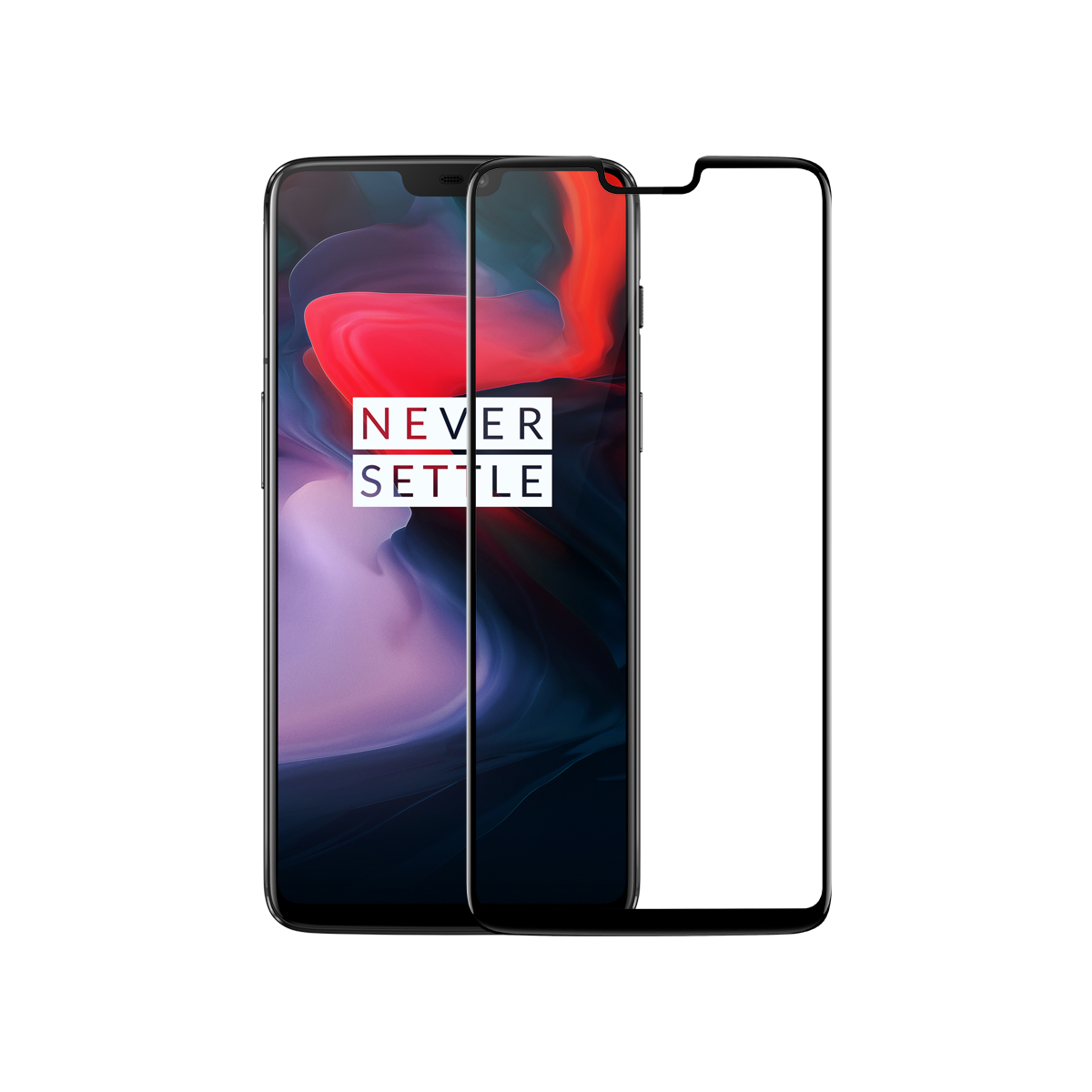 official photos 598a5 b2870 OnePlus 6 3D Tempered Glass Screen Protector - OnePlus (India)