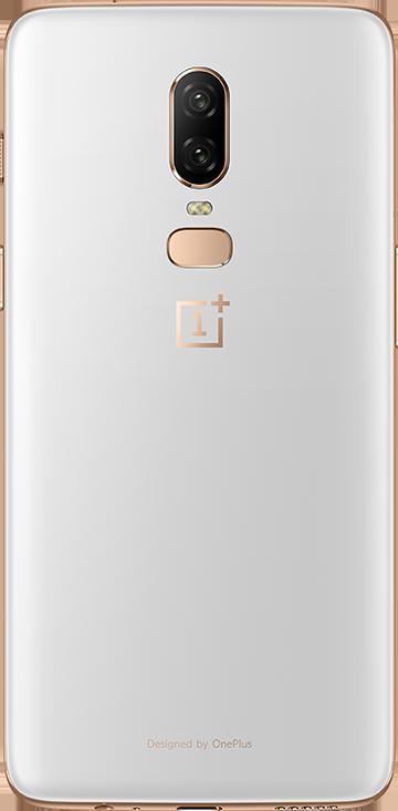 OnePlus 6 (Silk White, 128GB)