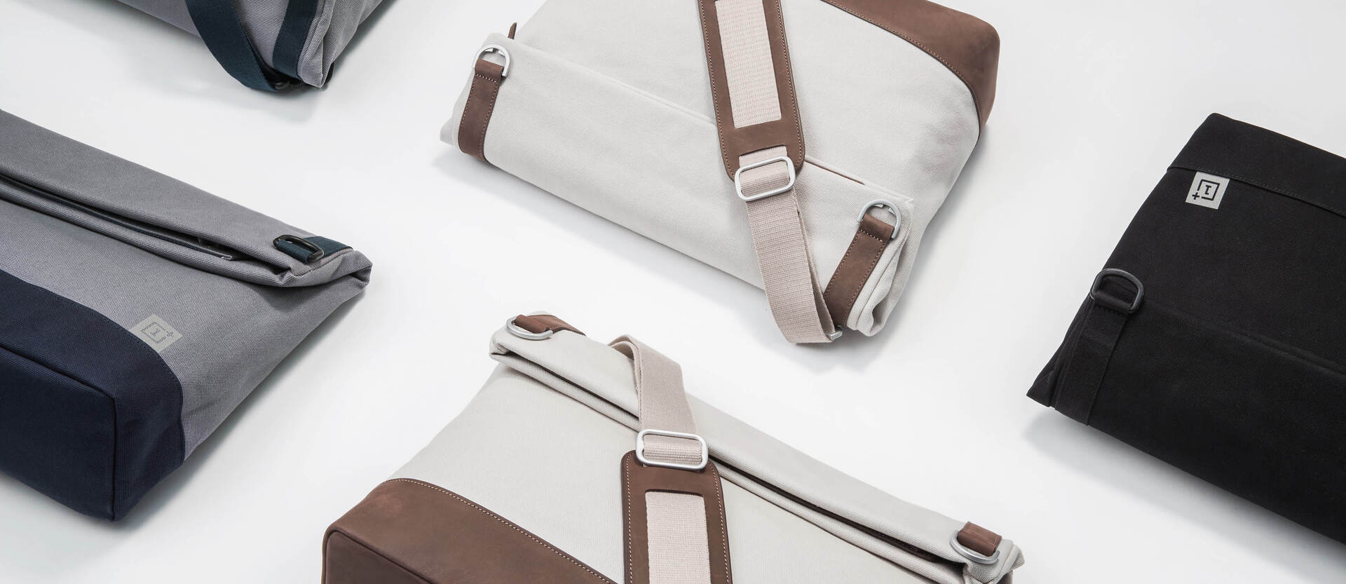 OnePlus Leather Messenger Bag