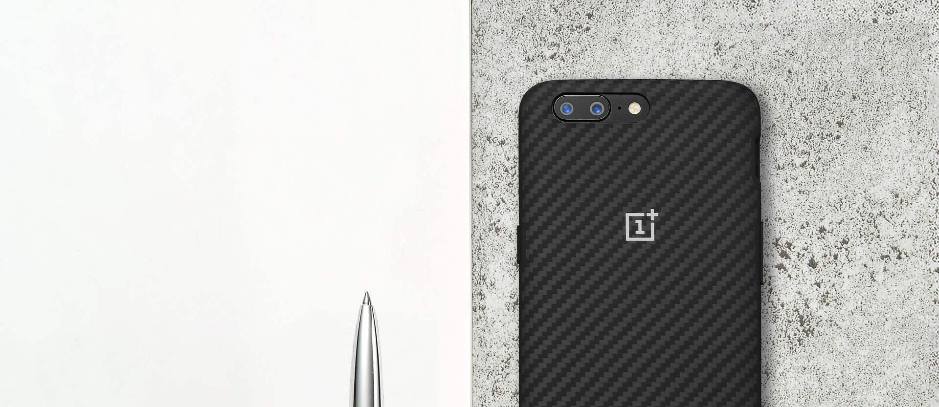 OnePlus 5 Karbon Bumper Case